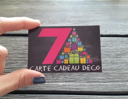 Carte cadeau décoration Gard hérault vaucluse Nîmes