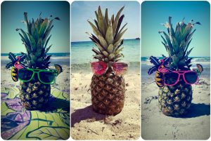decoration ananas