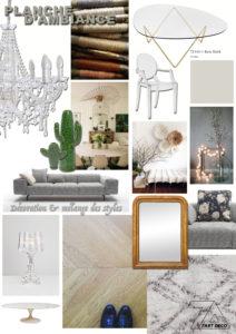 planche tendance decoration interieure decoratrice nimes montpellier