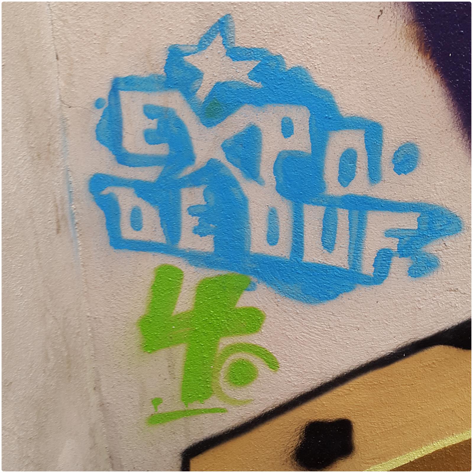 Expo De Ouf Nîmes Décoration Peinture Fresque murales