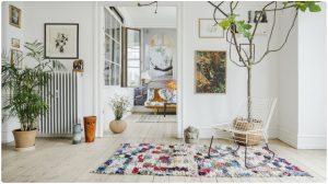 décoration tapis boucherouite