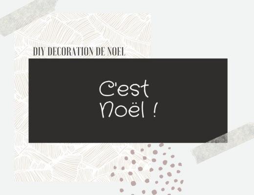 DIY et décorations de Noël Nimes Montpellier