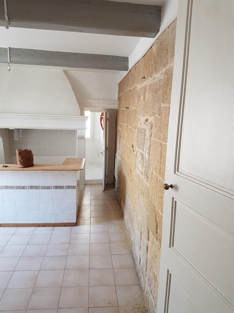 avant rénovation intérieure suite parentale Nimes Montpellier
